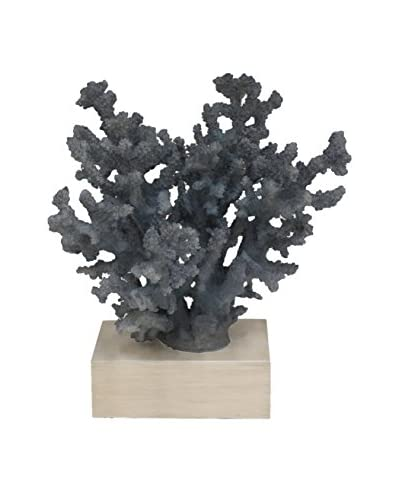 Three Hands Blue Medium Decorative Coral