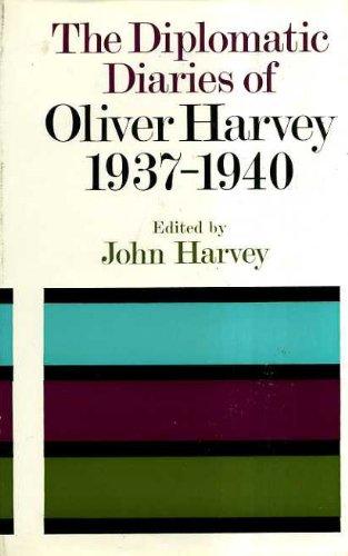 Diplomatic Diaries, 1937-40 PDF