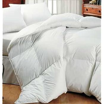 pas cher homescapes couette naturelle de luxe 2 personnes 260 x 220cm duvet et plumes de. Black Bedroom Furniture Sets. Home Design Ideas