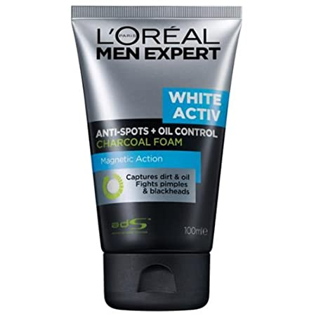 Amazon L'Oreal Men Expert White Activ Oil Control Charcoal Foam,00ml at Rs.341(Amex) or 379