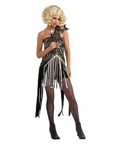 "Lady Gaga Costume, Womens Lady Gaga Star Dress Costume, Small, (USA 6 - 10), BUST 36 - 38"", WAIST 27 - 30"""