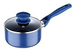 Bergner Diamond Coating Sauce Pan With Lid, Induction Base, 16cm, BG-7784
