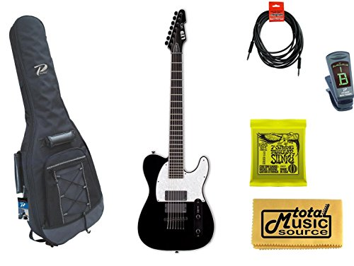 Esp Ltd Sct-607B Stephen Carpenter Baritone Guitar, Gig Bag & Accessoriesesp Ltd Sct-607B Stephen Carpenter Baritone Guitar, Padded Gig Bag & Accessories