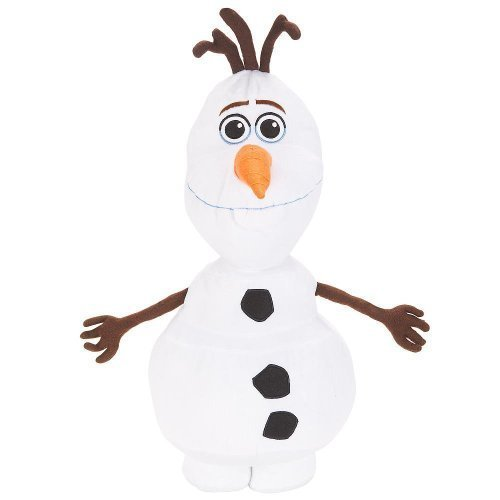 [Disney Frozen Olaf 22 Inch Large Olaf Plush Cuddle Pillow Figure] (Disney Frozen Snowman)