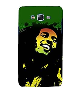 printtech Bob Marley Green Back Case Cover for Samsung Galaxy Core 2 G355H