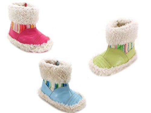 WHOLESALE GIRLS NEW BORN BOOTIES