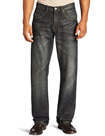 Lee Men's Dungarees Relaxed Straight Leg Jean, Fathom, 30x32