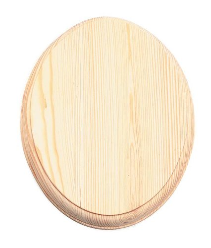 Darice 9176-30 Wood Oval Plaque