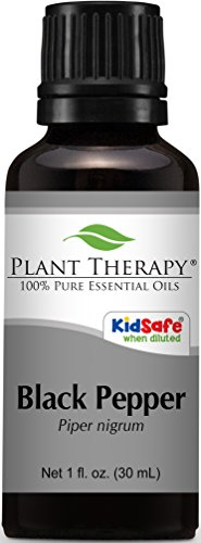Pepper, Black Essential Oil. 30 ml. (1 fl oz) 100% Pure, Undiluted, Therapeutic Grade.