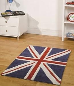 Tappeto bandiera inglese UK maxi misura cm 120x170: Amazon.it: Casa e ...