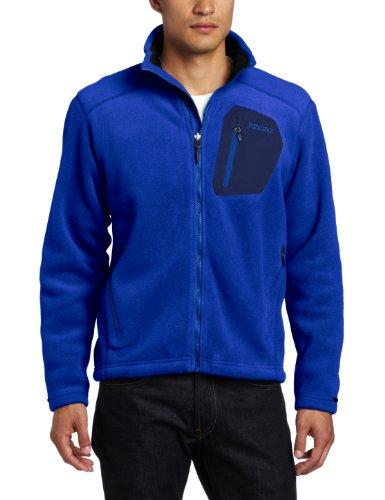 Marmot Men's Warmlight Fleece Jacket - Bright Navy, Large