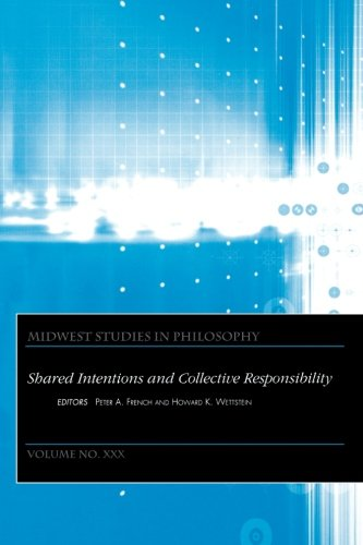 Midwest Studies in Philosophy, Shared Intentions and Collective Responsibility