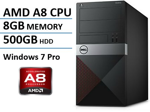 Newest Dell Vostro Desktop, AMD A8-7600