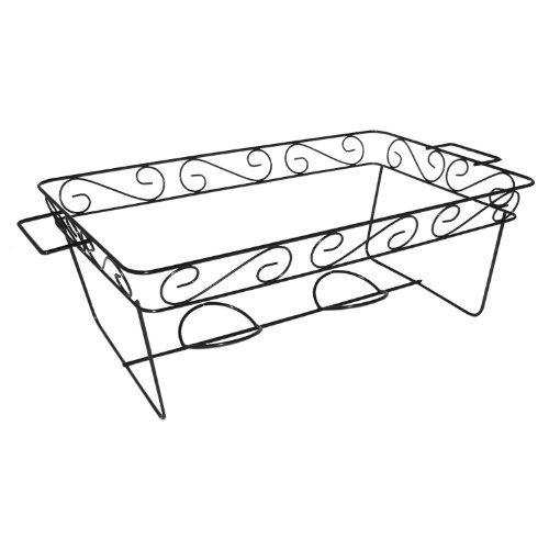 Party Essentials N1217 Elegance Full Size Chafing Rack, 7-3/8