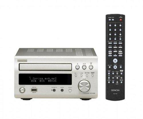 Denon DM38 DAB Hi-Fi System in Silver