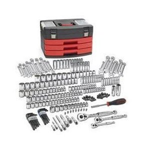 GearWrench KDT80935 225 Piece SAE/Metric 6 and 12 Point Mechanics Tool Set