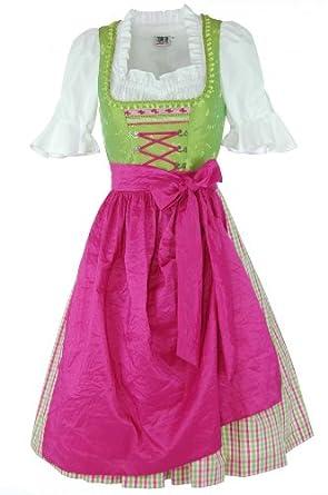Hammerschmid Dirndl In Apple Green, Women De-Dress Size:32 | Color:Green
