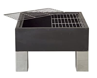 Square Firepit Brazier from Direct Designs