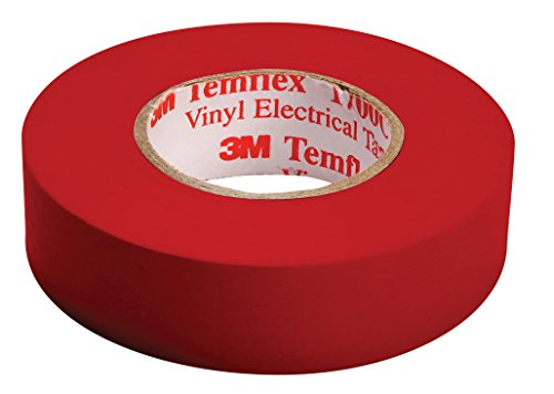 3M Temflex Isolierband, TAPE-RED/3M