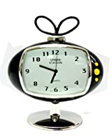 Miniature Antique Television Clock - Decorative Clock