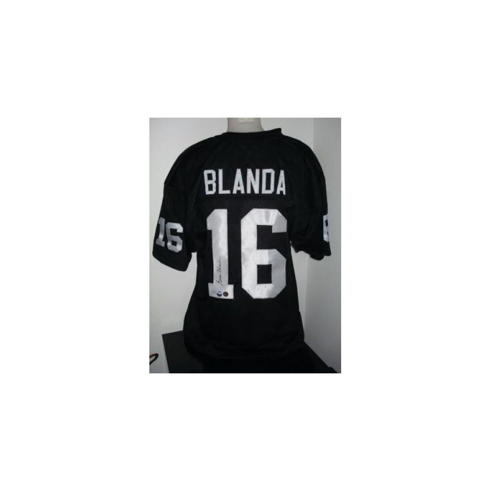 reputable site ecd48 f0db2 George Blanda Autographed Jersey Autographed NFL Jerseys on ...