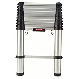 Telesteps 1400T 10-1/2-Foot 250-Pound Duty Rating Aluminum Telescoping Extension Ladder