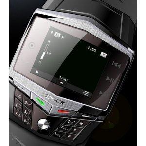 NEW Version Ultra-thin Quad-band Watch Mobile Phone FM/MP3/MP4 2M Camera