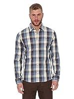 Oxbow Camisa Manga Larga Siklo (Azul Grisáceo)