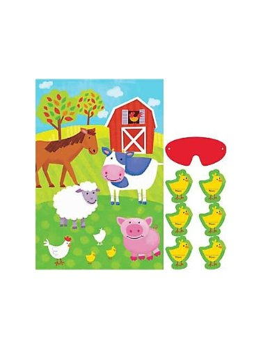 Amscan - Barnyard Party Game