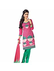 Ashika Printed Bollywood Designer Salwar Suit Dupatta (Unstitched) Dress Material (8214)