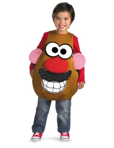 Unisex-Baby - Mr Potato Head Dlx Toddler Costume 3T-4T Halloween Costume front-901578