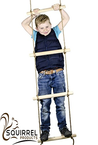 Find Bargain 6 ft. Climbing Rope Ladder for Kids - Swing Set Accessories