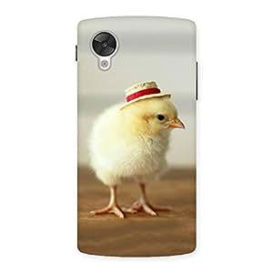 Hat Chik Back Case Cover for Google Nexsus 5