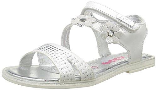 ASSO40702 - Sandali Bambina , Bianco (Bianco (White)), 34