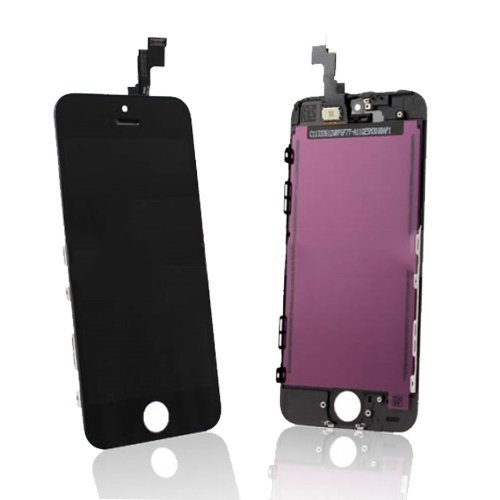 Retina Lcd Touch Screen Digitizer Glass Replacement Full Assembly For Iphone 5S - Black (Shipping From Usa)