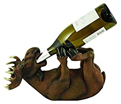 True Vino Mischievous Moose Bottle Holder