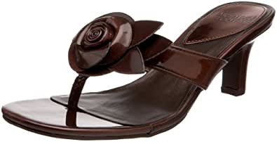 Mootsies Tootsies Women's Sopretty Thong Sandal,Bronze,11 M US