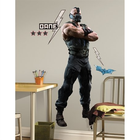 Roommates Rmk1930Gm Batman The Dark Knight Rises Bane Peel And Stick Giant Wall Decal