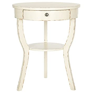 Safavieh American Home Collection Kendra Vintage Cream End Table