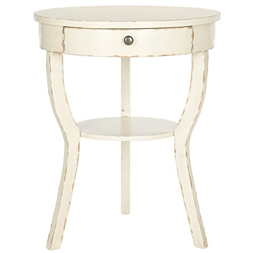 Safavieh American Home Collection Kendra Vintage Cream End Table 2
