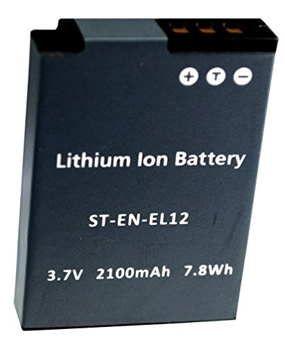 Replacement-Battery-Nikon-ENEL-12-for-Coolpix-S8200,P310,-S9100,-S6200,-S6100,-S8100,-S9200,-AW100,-S9500,-S9300,-S800c,-S6300.