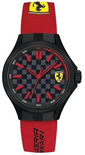 ferrari-mens-quartz-plastic-and-silicone-casual-watch-colorred-model-0840007
