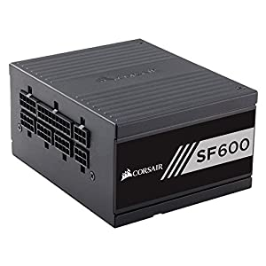 Corsair SF Series SF600 SFF 600 W Fully Modular 80 Plus Gold Power Supply Unit