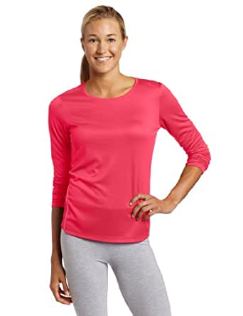 Asics Women's Core Long Sleeve Shirt, Flare, Large