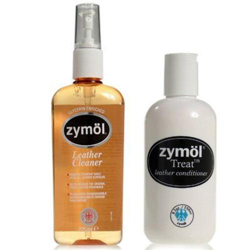 Zymol Complete Ultimate Leather Cleaner & Treat Conditioner Kit
