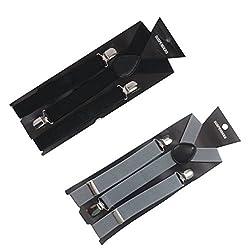 663f50550a5 10%off Atyourdoor Y- Back Suspenders for Men(BlackGreysus2)