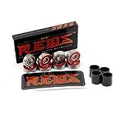 Bones Reds Precision Skate Bearings (8 Pack w/ Spacers)