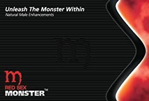 Red Sex Monster (10 Caps) All Natural Male Enhancement
