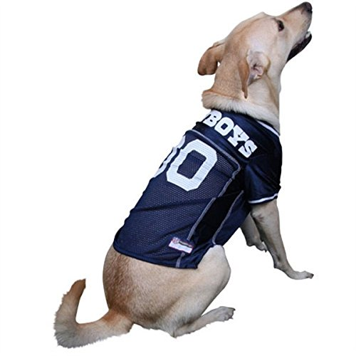Dallas Cowboys Dog Jersey ★ All Sizes ★ Licensed Nfl (Medium)