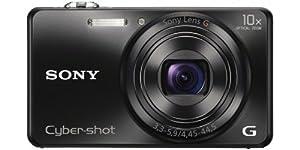 Sony DSC-WX200 Digitalkamera (18,2 Megapixel Exmor R Sensor, 10-fach opt. Zoom, 6,9 cm (2,7 Zoll) LCD-Display, 25mm Weitwinkelobjektiv, Wi-Fi Funktion) schwarz